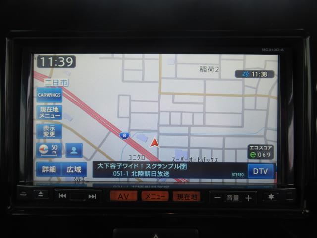 X 禁煙車 1オーナー【愛知県仕入】走行35097KM Bluetoothオーディオ対応SD地デジナビ バックカメラ ETC USB入力 オートエアコン インテリ&Pスタート Hレベライザー ベンチシート(3枚目)