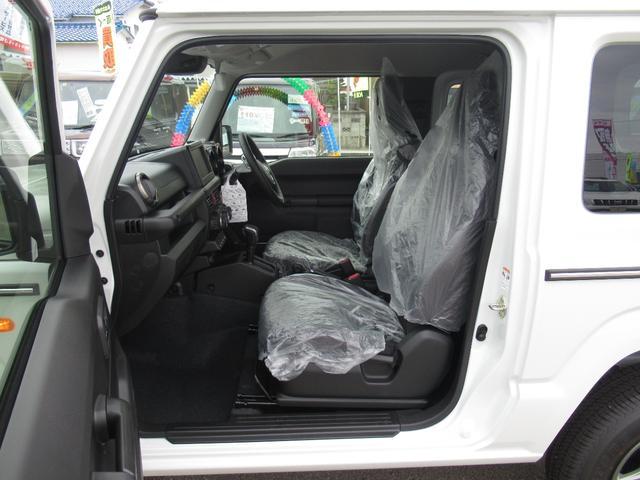 XC セーフティサポート AT車 届出済未使用車 GルックLEDデイライト付グリル 同色バンパー オーディオレス 横滑防止装置 シートヒーター クルコン スペアタイヤカバー ダウンヒルアシスト オートAC(15枚目)