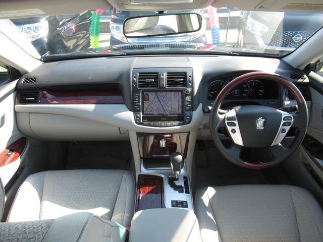 ロイヤルサルーンi-Four 4WD 寒冷地 後期型 禁煙車 1オーナー 走行33550KM BS夏&BS冬タイヤセット Bluetoothオーディオ対応HDDナビ Bカメラ ETC ウッドステア 横滑防止 スマート&Pスタート(2枚目)
