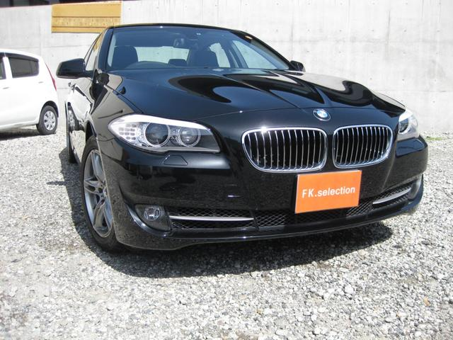 BMW BMW 528iハイライン 黒革シートHDDナビTVBカメラETC