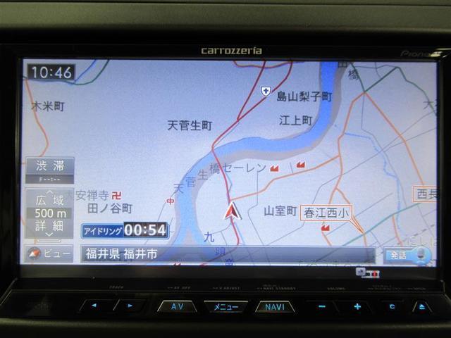 1.8Sエアロ フルセグ HDDナビ DVD再生 ETC HIDヘッドライト 記録簿(5枚目)
