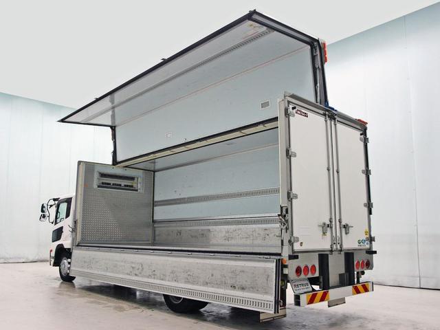 UDトラックス コンドル 冷凍ウイング 6.6t 245ps 東プレ