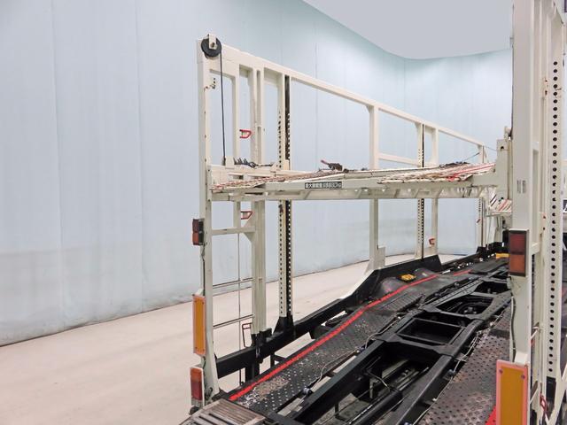日野 レンジャー キャリアカー 9.5t 270ps 尾張車体5台積み