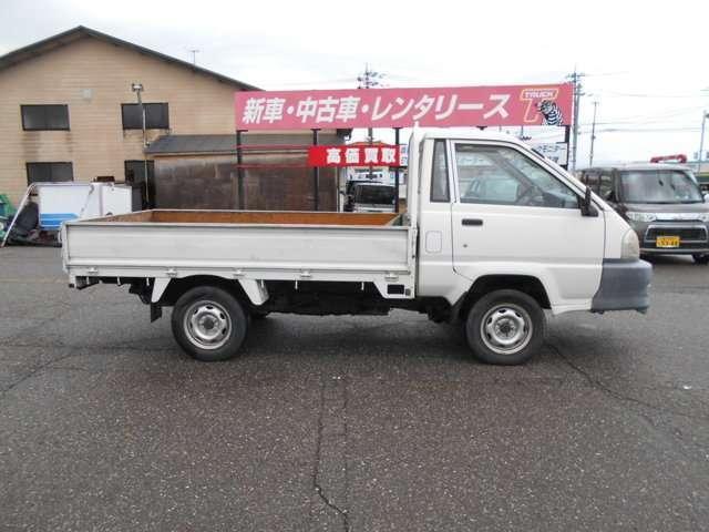 トヨタ タウンエーストラック ロングSジャストローDX スチールデッキ 三方開 4WD