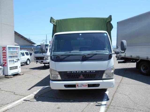 ワイドロング 幌カーテン 車積載3トン 5速マニュアル(2枚目)