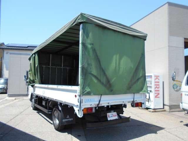 ワイドロング 幌カーテン 車積載3トン 5速マニュアル(4枚目)