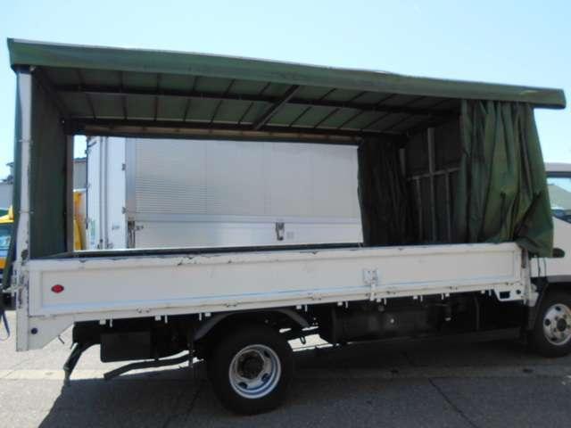 ワイドロング 幌カーテン 車積載3トン 5速マニュアル(5枚目)