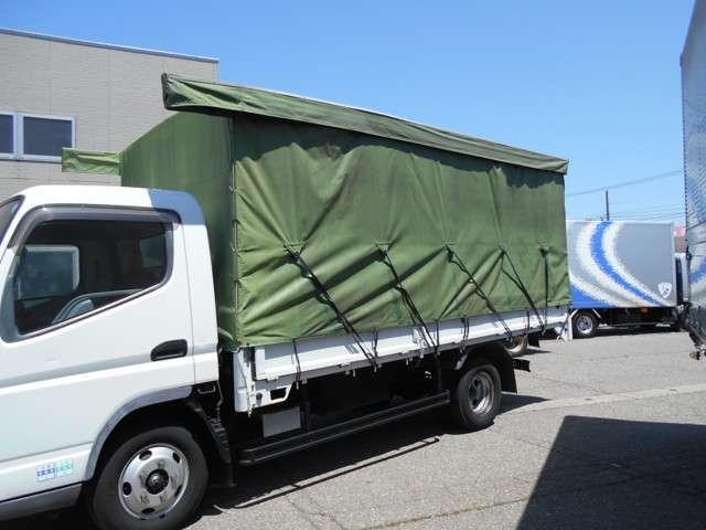 ワイドロング 幌カーテン 車積載3トン 5速マニュアル(12枚目)