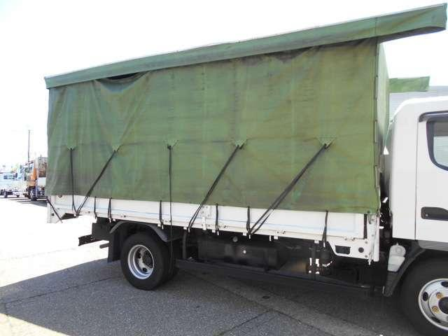 ワイドロング 幌カーテン 車積載3トン 5速マニュアル(13枚目)