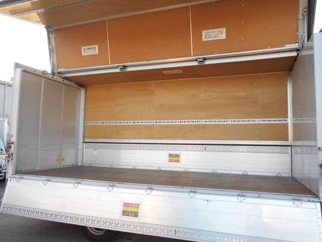 ワイド超ロングアルミウイング 積載3800kg 5mボディ(4枚目)