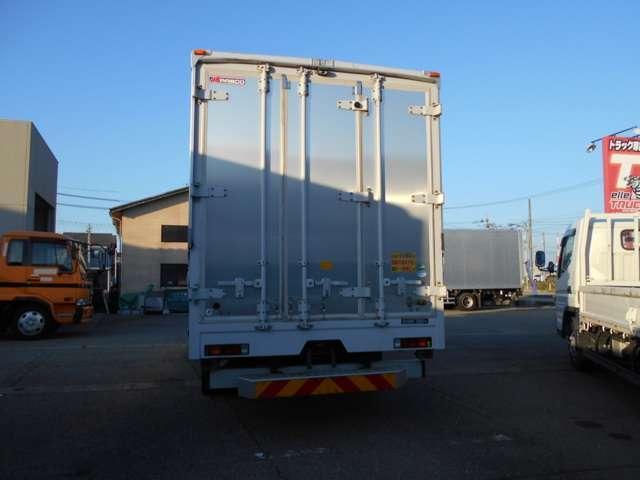 ワイド超ロングアルミウイング 積載3800kg 5mボディ(11枚目)
