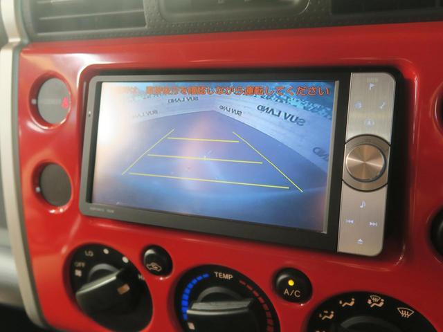トヨタ FJクルーザー レッドカラーパッケージ 4WD 純正HDDナビ フルセグ