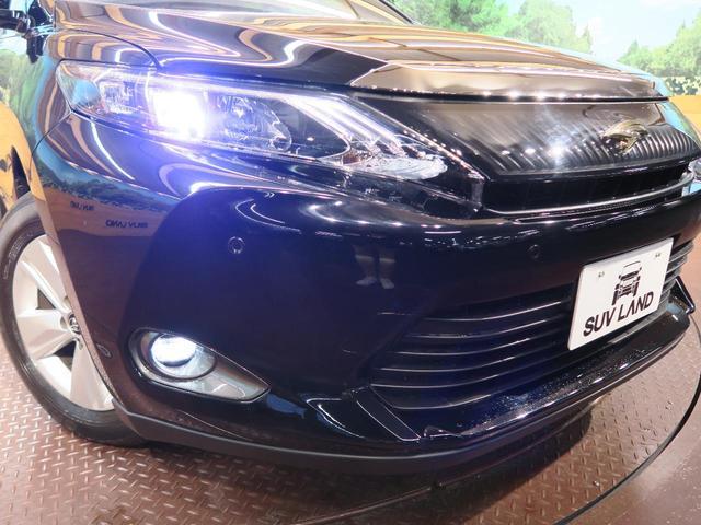 トヨタ ハリアー エレガンス メーカーナビ フルセグTV LEDヘッド&フォグ