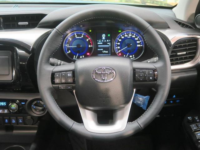 トヨタ ハイラックス Z TRDスポーツバー 登録済未使用車 プリクラッシュ 軽油