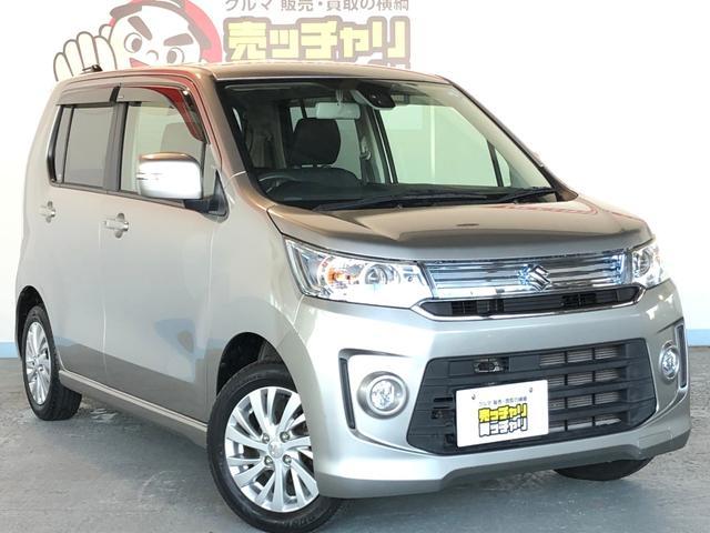 「スズキ」「ワゴンRスティングレー」「コンパクトカー」「福井県」の中古車23