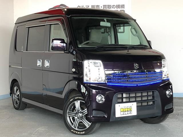 「スズキ」「エブリイワゴン」「コンパクトカー」「福井県」の中古車21