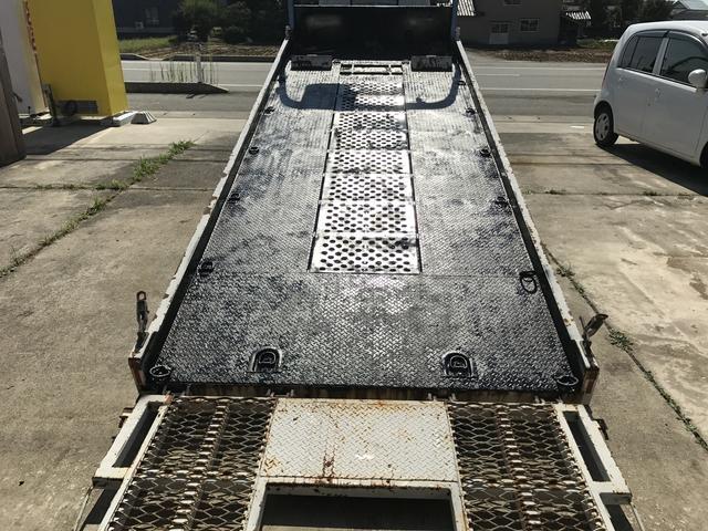 三菱ふそう キャンター 積載車 セーフティローダー ショート リモコン