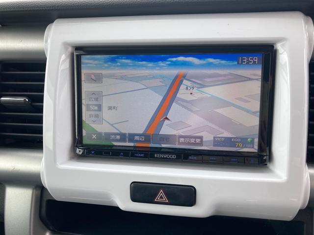 G メモリーナビ ワンセグTV スマートキープッシュスタート 社外14インチAW マッドタイヤ シートヒーター オートエアコン 電動格納ミラー アイドリングストップ(3枚目)