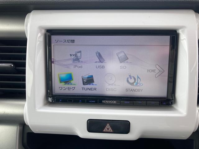 G メモリーナビ ワンセグTV スマートキープッシュスタート 社外14インチAW マッドタイヤ シートヒーター オートエアコン 電動格納ミラー アイドリングストップ(4枚目)