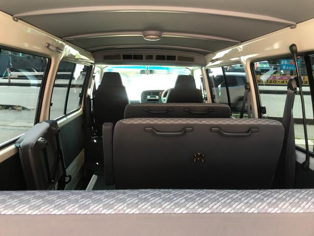 デラックス ロング ディーゼルターボ 4WD 10人乗り(20枚目)