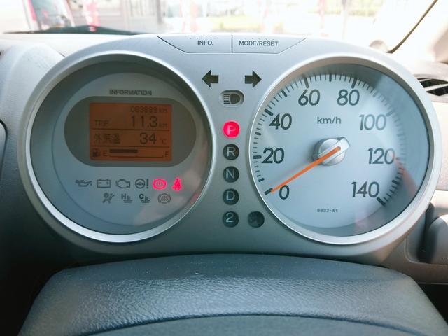 ディーバ キーレス CD 純正14AW 衝突安全ボディ ABS 電動格納ミラー ベンチシート デュアルエアバック エアコン パワステ(14枚目)