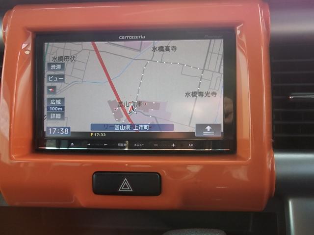 X フルセグメモリーナビ スマートキー HID シートヒーター 衝突被害軽減システム 純正15AW アイドリングストップ 横滑り防止装置(10枚目)