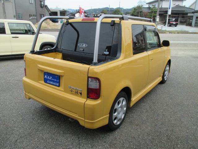 トヨタ bB オープンデッキ 走行距離が少ない!!