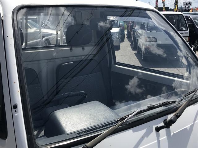 4WD 4速マニュアル ホワイト 軽トラック グー鑑定書付き(7枚目)
