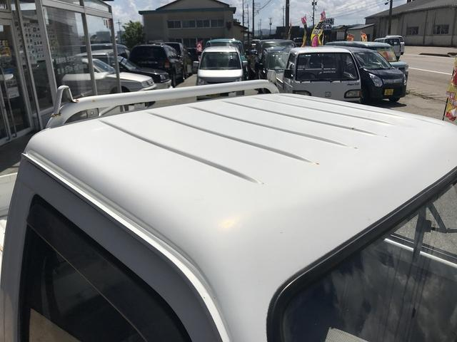 4WD 4速マニュアル ホワイト 軽トラック グー鑑定書付き(8枚目)
