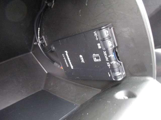 ETCはグローブボックス内に取り付けられております。