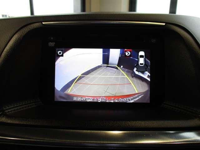 バックカメラ標準装備です。サイドカメラも付いておりますので、安心安全に駐車することができます。