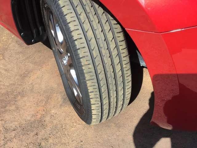 タイヤの目もたっぷりあります。