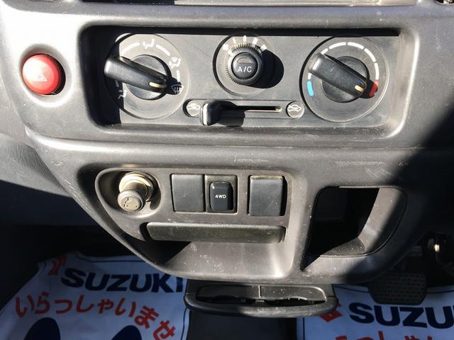 スズキ キャリイトラック 4WD エアコン パワステ AT