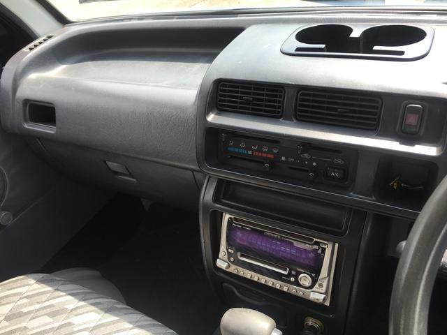 ダイハツ ハイゼットトラック ジャンボ 4WD オートマ車 社外CD MD付