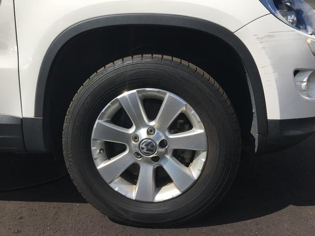 フォルクスワーゲン VW ティグアン トラック&フィールド 純正16インチAW 純正ナビ 4WD