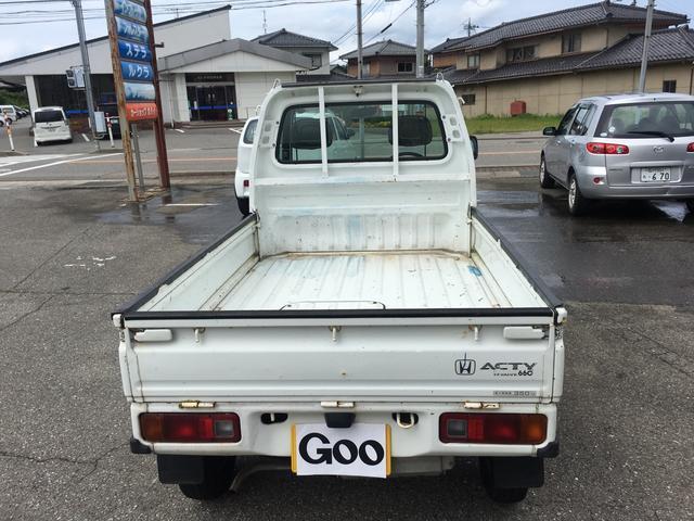 ホンダ アクティトラック 4WD 5速マニュアル車
