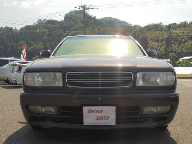 日産 セドリック ブロアム K-BREAKマフラー 社外エアロ デジパネ