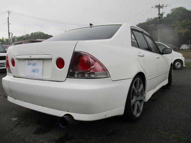 RS200 Zエディション 社外マフラー 車高調 社外LSD(9枚目)