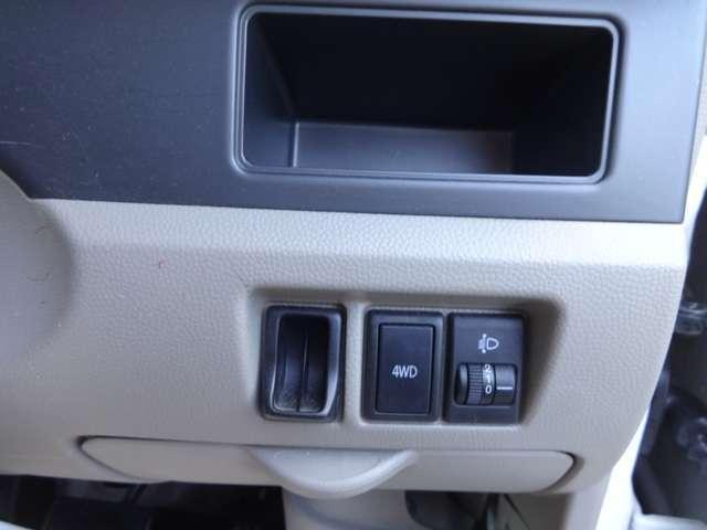 マツダ スクラム PC  ハイルーフ 4WD 新品スタッドレス付