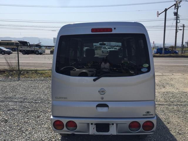 日産 クリッパーバン GL 4WD