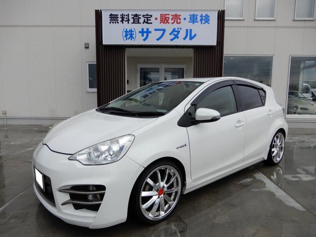 「トヨタ」「アクア」「コンパクトカー」「石川県」の中古車21