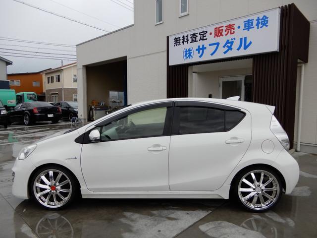 「トヨタ」「アクア」「コンパクトカー」「石川県」の中古車25