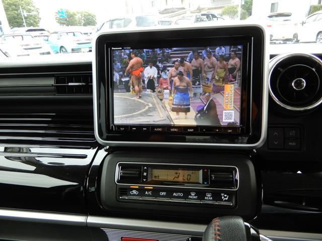 ハイブリッドXS 両側スライドドア ナビ フルセグTV 全方位カメラ アイドリング 障害物センサー シートヒーター 純正ホイール LEDライト スペアキー(3枚目)