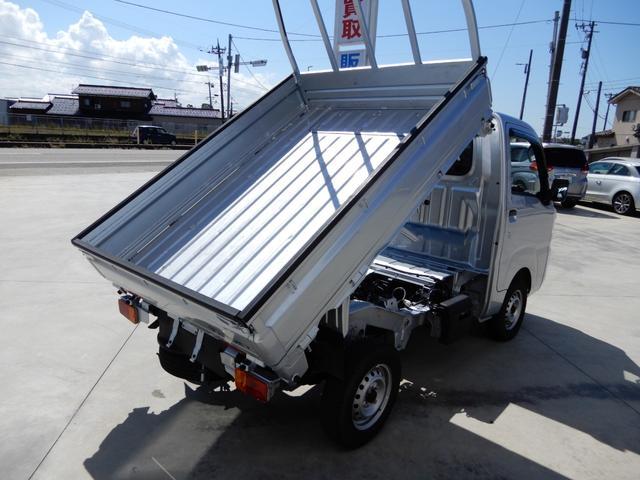 ローダンプ ワンオーナー 4WD エアコン パワステ AT車 積載350kg(2枚目)