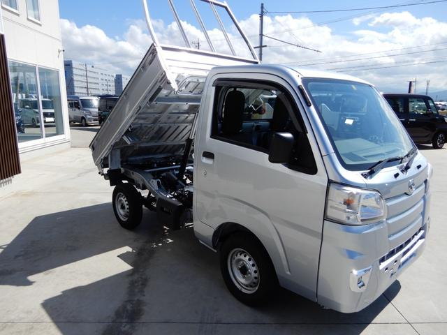 ローダンプ ワンオーナー 4WD エアコン パワステ AT車 積載350kg(3枚目)