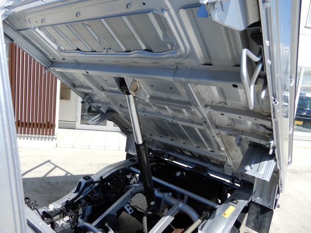 ローダンプ ワンオーナー 4WD エアコン パワステ AT車 積載350kg(11枚目)