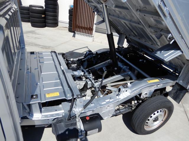 ローダンプ ワンオーナー 4WD エアコン パワステ AT車 積載350kg(12枚目)