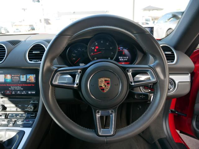 718ケイマン GTステアリング スポーツエギゾースト(4枚目)