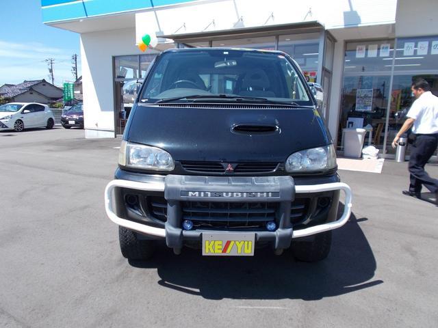 エクシードI 4WD軽油 サンルーフ フロント&サイドガード(2枚目)
