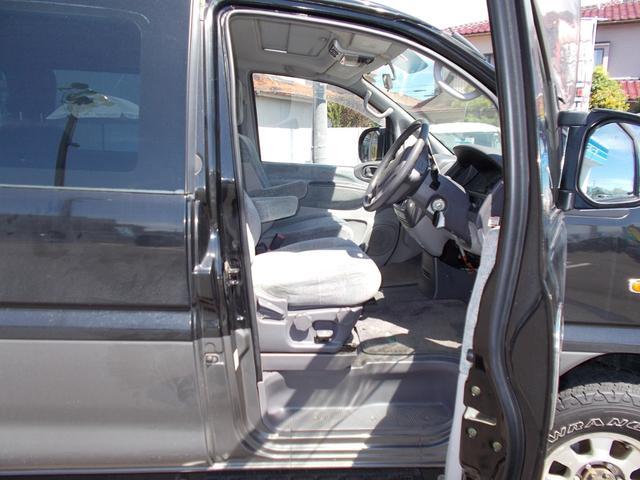エクシードI 4WD軽油 サンルーフ フロント&サイドガード(9枚目)